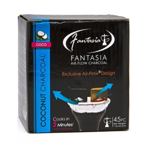 Fantasia Air-Flow Coconut Charcoal (45PCS)